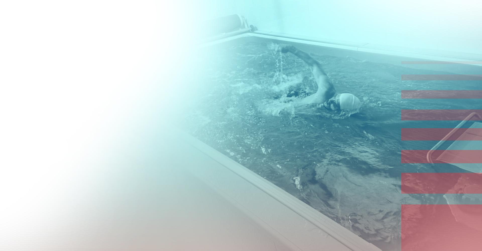 piscine enlesspool, courant continu, natation, coach chris