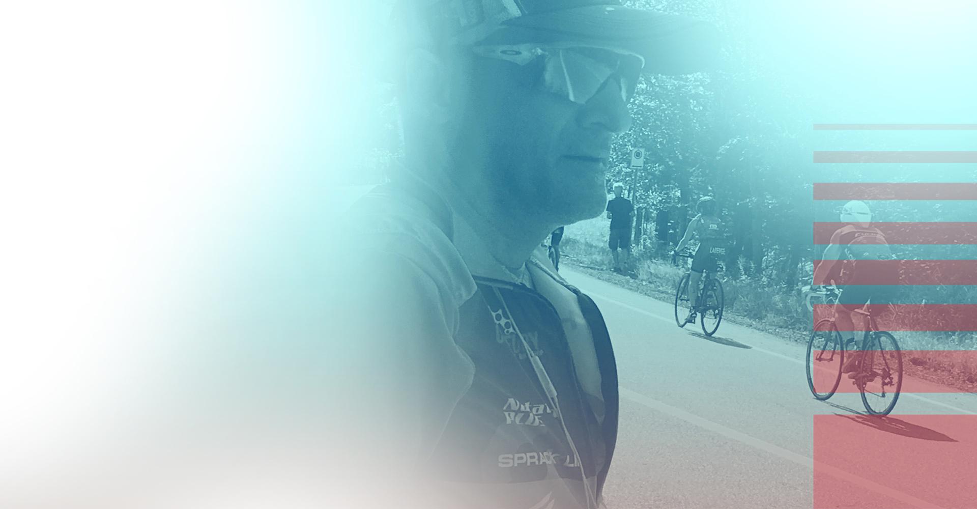 christian canmden, entrainement de cyclistes
